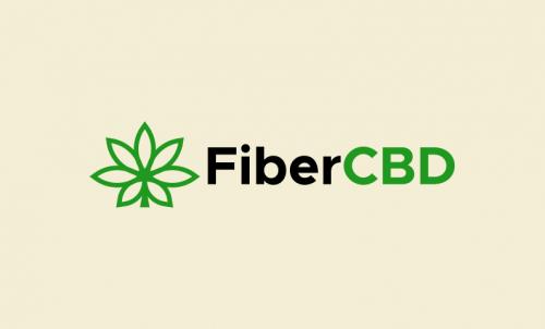 Fibercbd - Cannabis startup name for sale