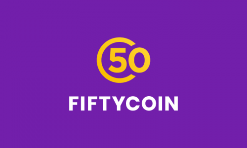 Fiftycoin - Cryptocurrency product name for sale