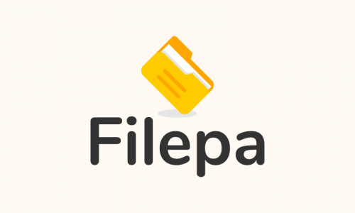 Filepa - Office supplies company name for sale