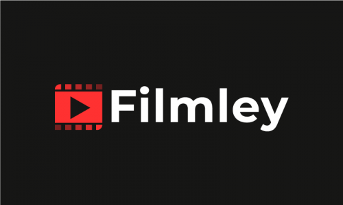 Filmley - Movie company name for sale