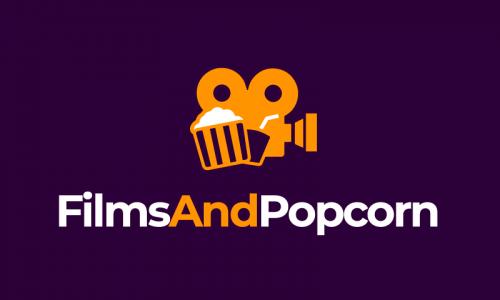 Filmsandpopcorn - Movie domain name for sale