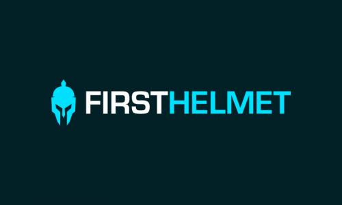 Firsthelmet - E-commerce startup name for sale