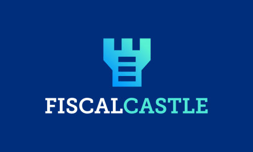 Fiscalcastle - Modern startup name for sale