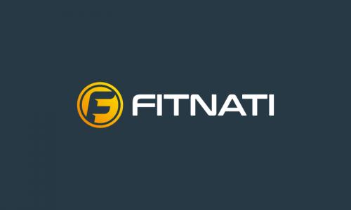 Fitnati - Exercise company name for sale