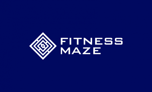 Fitnessmaze - Exercise company name for sale