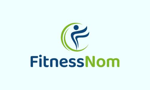 Fitnessnom - Exercise brand name for sale