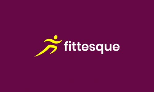 Fittesque - Fitness business name for sale