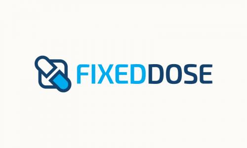 Fixeddose - Retail domain name for sale
