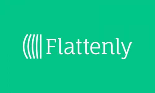 Flattenly - Business domain name for sale