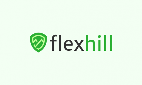 Flexhill - Retail startup name for sale