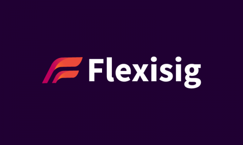 Flexisig - Business startup name for sale
