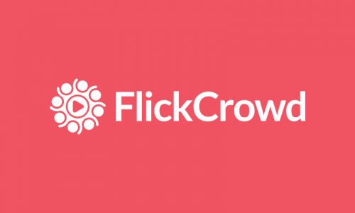 Flickcrowd - Technology startup name for sale