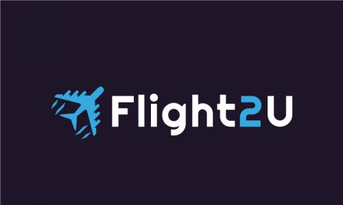 Flight2u - Travel startup name for sale