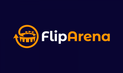 Fliparena - Modern business name for sale