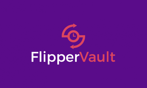 Flippervault - Technology product name for sale