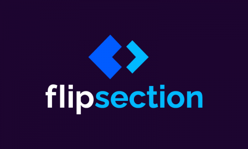 Flipsection - Technology brand name for sale