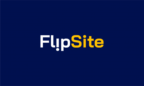 Flipsite - Technology business name for sale