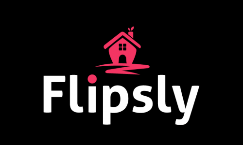 Flipsly - Real estate company name for sale