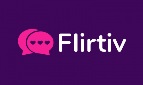 Flirtiv - Dating startup name for sale