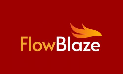 Flowblaze - Technology brand name for sale