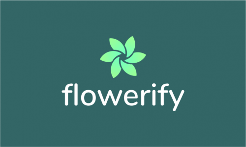 Flowerify - E-commerce product name for sale