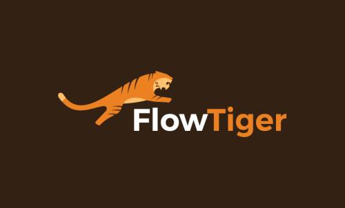 Flowtiger - Marketing startup name for sale