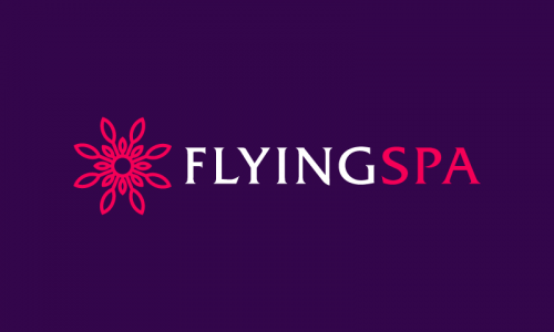 Flyingspa - Wellness company name for sale