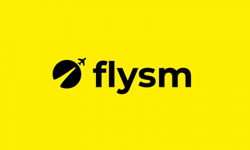 Flysm - Travel brand name for sale