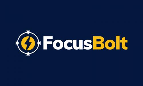Focusbolt - Electronics startup name for sale