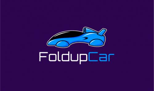 Foldupcar - Automotive startup name for sale