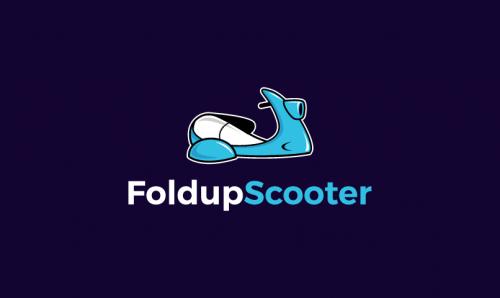 Foldupscooter - Transport startup name for sale
