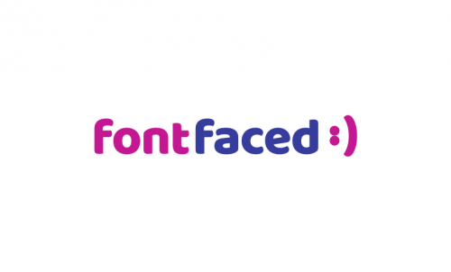 Fontfaced - Design product name for sale