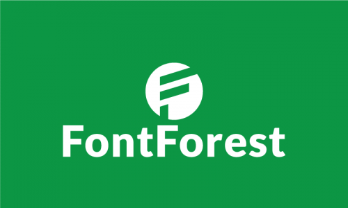 Fontforest - Design business name for sale
