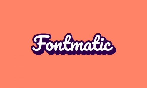 Fontmatic - Contemporary domain name for sale