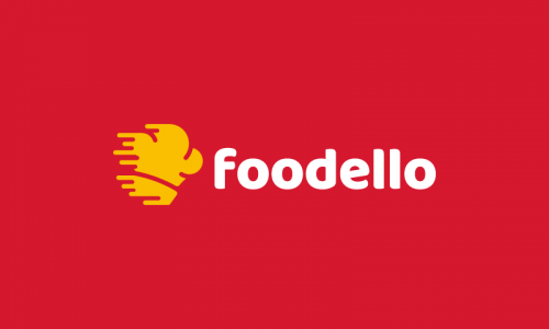 Foodello - Food and drink domain name for sale
