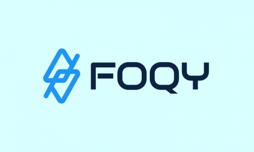 Foqy - Modern company name for sale