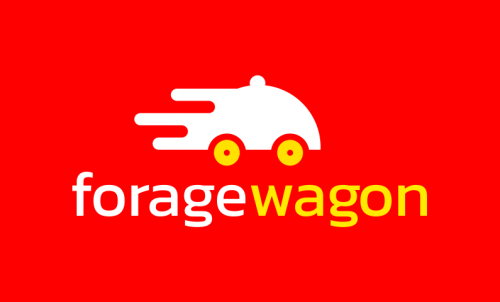 Foragewagon - Food and drink company name for sale