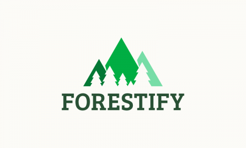 Forestify - Investment startup name for sale