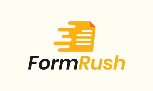 Formrush - Business startup name for sale