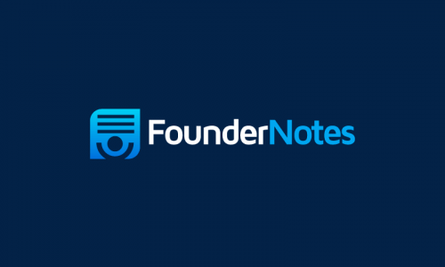 Foundernotes - Possible business name for sale