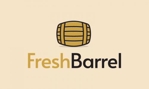 Freshbarrel - E-commerce business name for sale