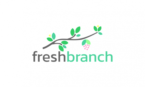 Freshbranch - Food and drink company name for sale