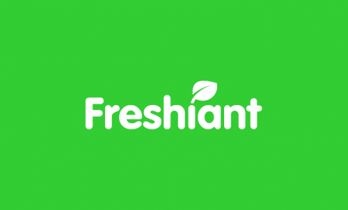 Freshiant - Food and drink company name for sale