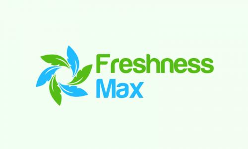 Freshnessmax - Healthcare startup name for sale