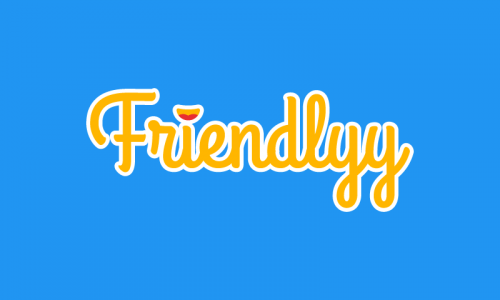 Friendlyy - Social product name for sale