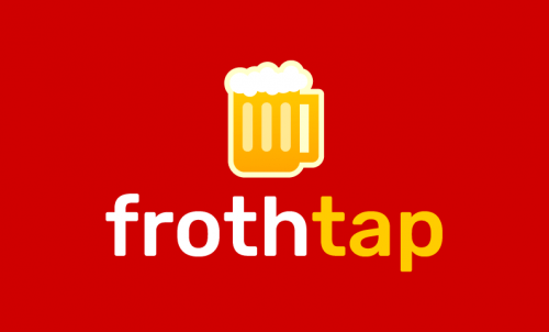 Frothtap - E-commerce company name for sale