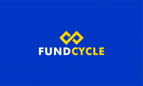Fundcycle - Fundraising startup name for sale