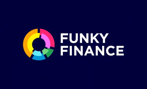 Funkyfinance - Finance startup name for sale