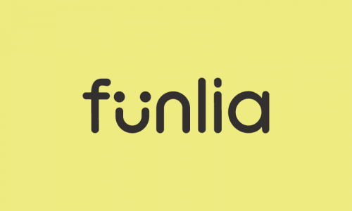 Funlia - Entertainment company name for sale
