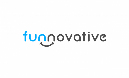 Funnovative - Entertainment startup name for sale